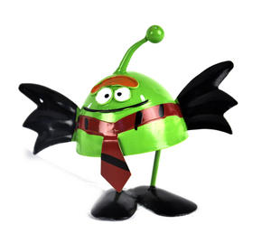 Alien Bat - Springy Spooky Wobbler Thumbnail 1