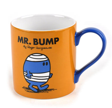 Mr Bump - Full Colour Mr Men And Little Miss Mug Collection