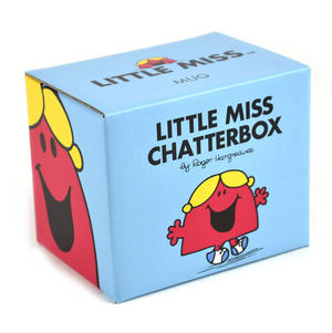 Little Miss Chatterbox - Full Colour Mr Men And Little Miss Mug Collection Thumbnail 2