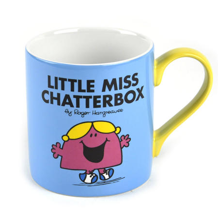 Little Miss Chatterbox - Full Colour Mr Men And Little Miss Mug Collection