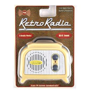 Retro Radio - Miniature FM Radio - Random Designs Thumbnail 1