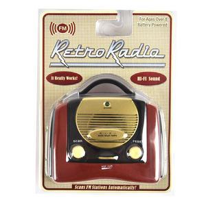 Retro Radio - Miniature FM Radio - Random Designs Thumbnail 4