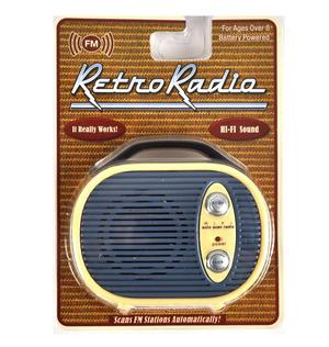 Retro Radio - Miniature FM Radio - Random Designs Thumbnail 7