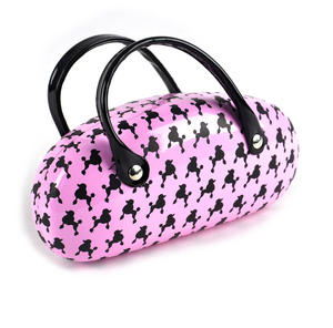 Poodle Pink Sunglasses Carry Case