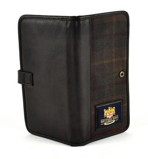 Millerain Green Check Travel Documents Wallet / Organiser