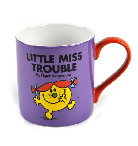 Little Miss Trouble - Full Colour Mr Men And Little Miss Mug Collection