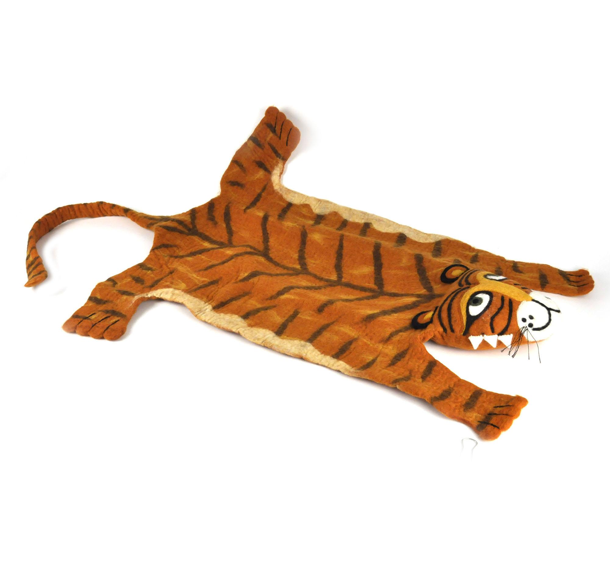 Tiger Super Felt Rug