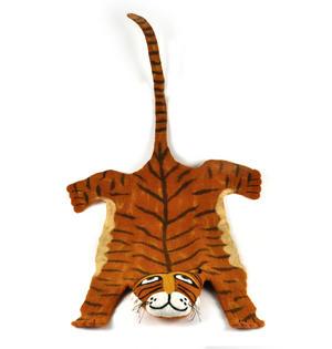 Tiger Super Felt Rug Thumbnail 1