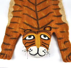 Tiger Super Felt Rug Thumbnail 5