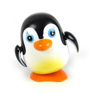Clockwork Racing Wind Up Penguin Thumbnail 1