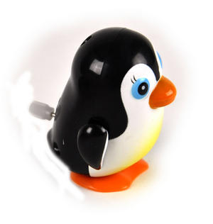 Clockwork Racing Wind Up Penguin Thumbnail 3