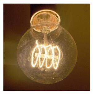 "Vintage Element Light Bulb - ABC 2501 - Clear Glass 40 Watts - 6cm  / 2.5"" Thumbnail 1"