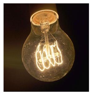 "Vintage Element Light Bulb - ABC 2501 - Clear Glass 40 Watts - 6cm  / 2.5"" Thumbnail 2"