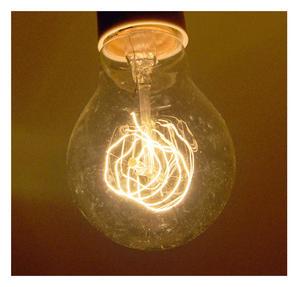 "Vintage Element Light Bulb - ABC 2501 - Clear Glass 40 Watts - 6cm  / 2.5"" Thumbnail 5"