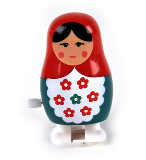 Clockwork  Racing Wind Up Russian Doll Matrioshka Babushka - Random Designs Thumbnail 2