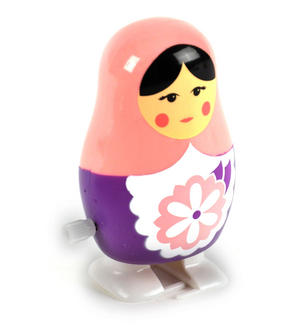 Clockwork  Racing Wind Up Russian Doll Matrioshka Babushka - Random Designs Thumbnail 5