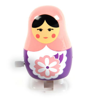 Clockwork  Racing Wind Up Russian Doll Matrioshka Babushka - Random Designs Thumbnail 6