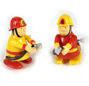 Clockwork  Racing Wind Up Fireman - Random Designs Thumbnail 4