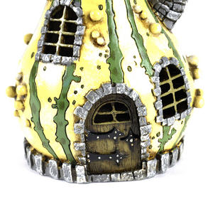 Striped Gourd Fairy Home - Fiddlehead Fairy Garden Collection Thumbnail 2