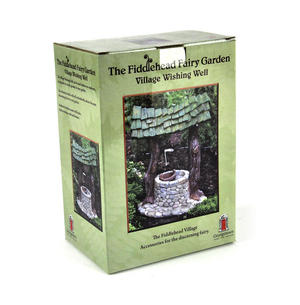 Fairy Village Wishing Well - Fiddlehead Fairy Garden Collection Thumbnail 4
