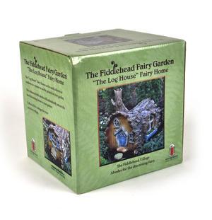 Log  House Fairy Home - Fiddlehead Fairy Garden Collection Thumbnail 5