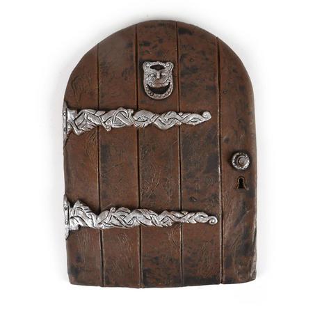 "25cm / 10"" XL Rounded Magical Fairy Door - Fiddlehead Fairy Garden Collection"