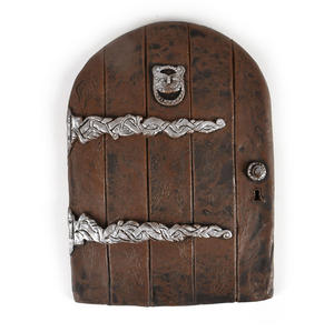"25cm / 10"" XL Rounded Magical Fairy Door - Fiddlehead Fairy Garden Collection Thumbnail 1"