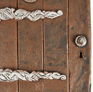 "25cm / 10"" XL Rounded Magical Fairy Door - Fiddlehead Fairy Garden Collection Thumbnail 2"