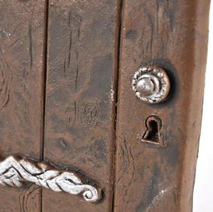 "25cm / 10"" XL Rounded Magical Fairy Door - Fiddlehead Fairy Garden Collection Thumbnail 4"