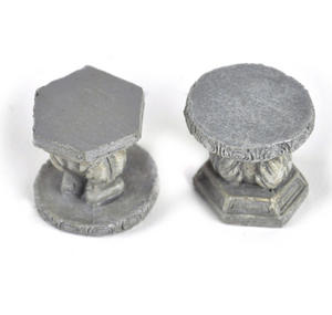 Fairy Stone Garden Stools - Fiddlehead Fairy Garden Collection Thumbnail 2