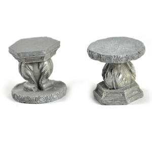 Fairy Stone Garden Stools - Fiddlehead Fairy Garden Collection Thumbnail 3