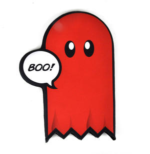 "Pac Man Ghost ""Boo"" Oven Glove Thumbnail 1"