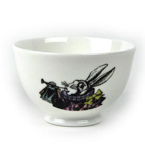 Alice In Wonderland 'One Lump or Two?' Fine Porcelain Sugar Bowl Thumbnail 1