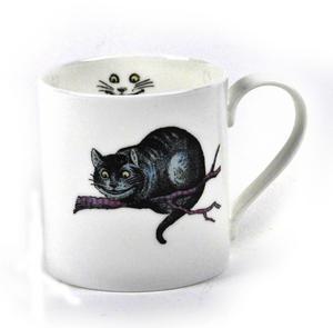 Alice In Wonderland Fine Porcelain Cheshire Cat Mug Thumbnail 1