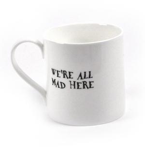 Alice In Wonderland Fine Porcelain Cheshire Cat Mug Thumbnail 2