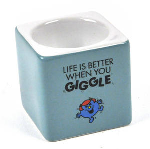 Little Miss Giggles Egg Cup - The Mr Men And Little Miss Collection Thumbnail 3