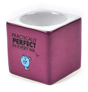Mr Perfect Egg Cup - The Mr Men And Little Miss Collection Thumbnail 2
