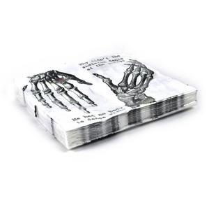 20 Skeleton Crew Dinner Napkins Thumbnail 2