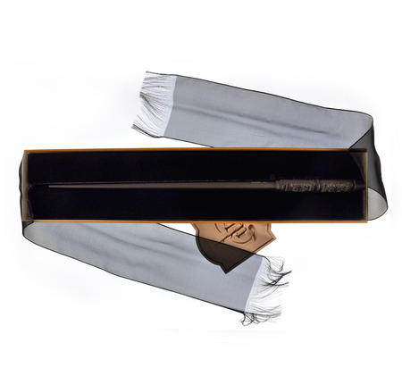Harry Potter Replica Snape Wand with Ollivanders Box