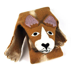 Prince the Corgi Dog Super Felt Rug Thumbnail 5