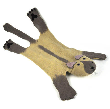 Suki the Cat Super Felt Rug