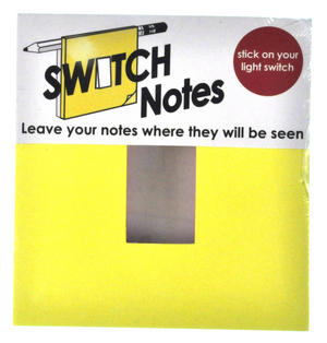 Switch Notes - Light Switch Sticky Notes