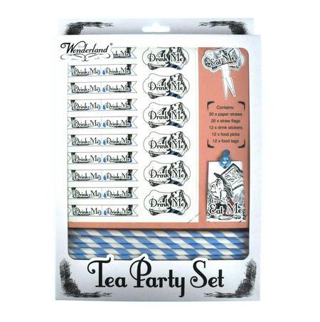 Alice in Wonderland Tea Party Set
