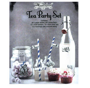 Alice in Wonderland Tea Party Set Thumbnail 3