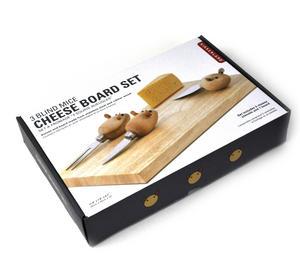 3 Blind Mice Cheese Board Set Thumbnail 2