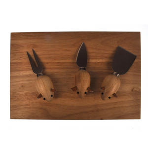 3 Blind Mice Cheese Board Set Thumbnail 7
