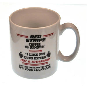 Red Stripe Coffee > Strip Off Now - Disappearing Letters Heat Change Mug Thumbnail 2