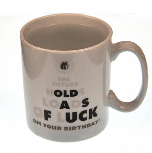 Future Luck  > Old as Fuck - Disappearing Letters Heat Change Mug Thumbnail 4