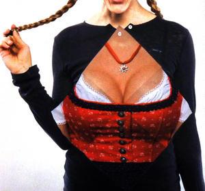 Bustier Buttonhole Napkins -  Liesl Thumbnail 1