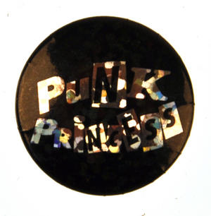 Punk Princess Badge - Holographic